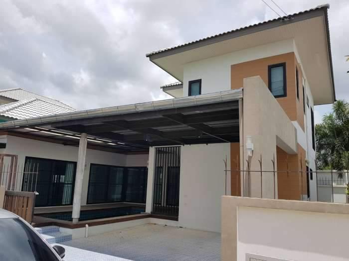 ขายบ้านเดี่ยวหมู่บ้านอิสตินี่ บางเสร่ บ้านสวยพร้อมสระว่ายน้ำ พร้อมแอร์ 4ตัว พื้นที่ 68 ตร.ว. ราคาถูก (เจ้าของขายเอง)