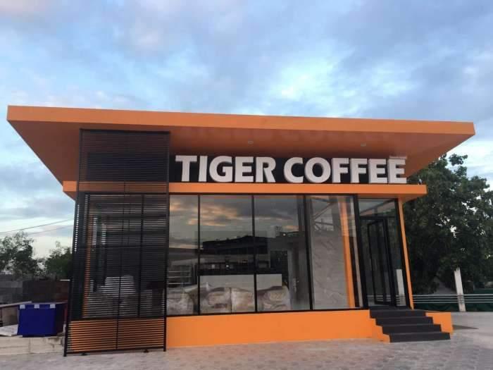 เซ้ง!! ร้านกาแฟ ในปั้มเอสโซ่ เปิดใหม่ บางบัวทอง-ราชพฤกษ์