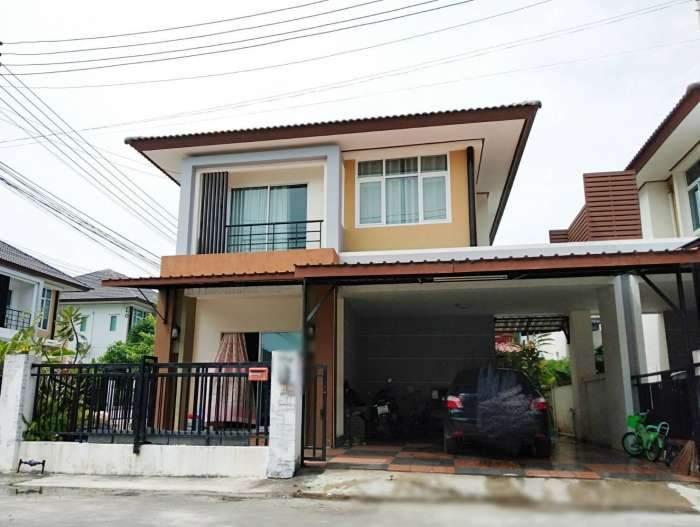 ขายบ้านแฝด (หลังมุม) หมู่บ้านธาดาพาร์ค2 ชลบุรี