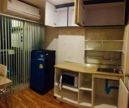 ให้เช่า คอนโด LPN Ville Sukhumvit 76  C4 FL4 ห้อง 26.22 sq.mm