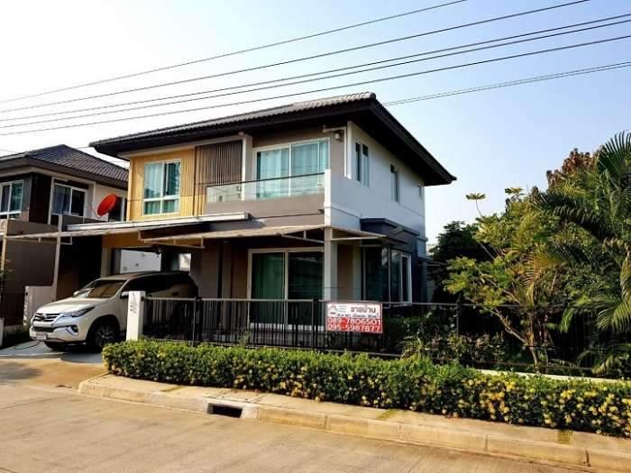 ขายบ้านเดี่ยว 2 ชั้น หมู่บ้านพฤกษ์ลดา(วงแหวน-หทัยราษฎร์) คลองสามวา กทม