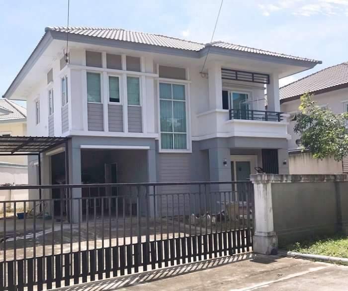 ขายถูก บ้านเดี่ยว โครงการเนเชอร่า วารี (ปิ่นเกล้า-พระราม 5) บางใหญ่ นนทบุรี