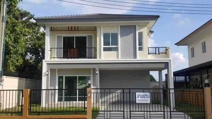 ขายบ้านใหม่  บ้านเดี่ยว หมู่บ้านโครงการ Passor Prime 39 พระราม5-สิรินธร