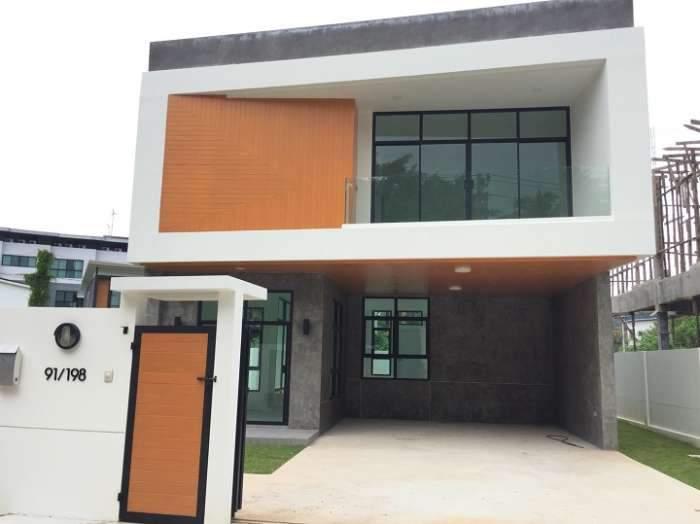 บ้านใหม่ บ้านเดี่ยว 3 ชั้น ในสนามกอล์ฟภูเก็ตคันทรีคลับ อ.กระทู้ ภูเก็ต