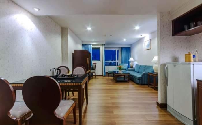 ปรินซ์สวีท เรสซิเดนซ์ กรุงเทพฯ ห้องพักรายเดือนใกล้โบ๊เบ๊,ข้าวสาร,สยาม รวมค่าไฟ-น้ำ