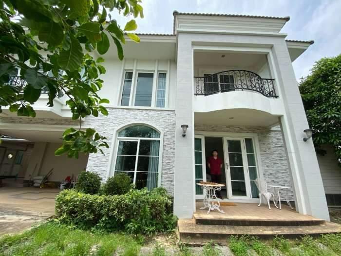ขาย บ้านเดี่ยว 2ชั้น หมู่บ้าน casa grand วงแหวน - อ่อนนุช เนื้อที่ 79 ตารางวา