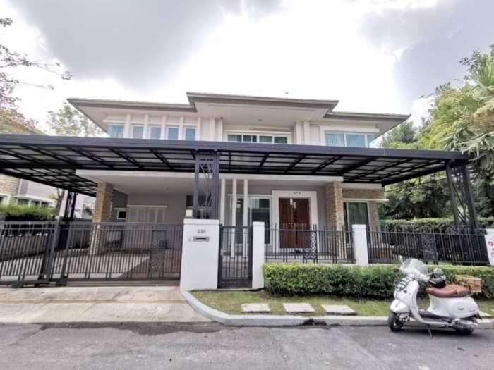 ขาย บ้านเดี่ยว แกรนด์ บางกอก บูเลอวาร์ด  ตกแต่งสวยมาก Grand Bangkok Bluelevard พระราม 9 ศรีนครินทร์