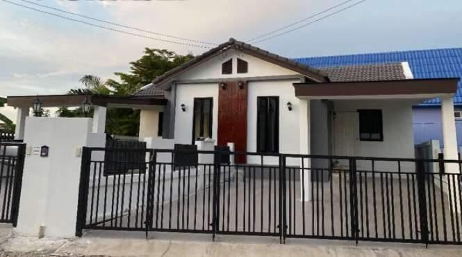ขายบ้านหลังโรงน้ำแข็ง บ้านแฝดสร้างใหม่ บางละมุง ชลบุรี