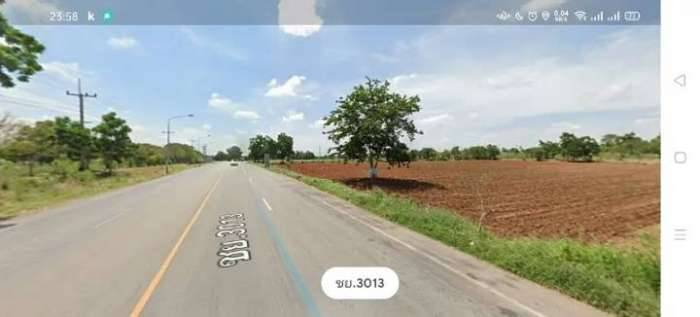 ที่ดินติดถนน ตำบลบ้านขาม อำเภอจัตุรัส จังหวัดชัยภูมิ