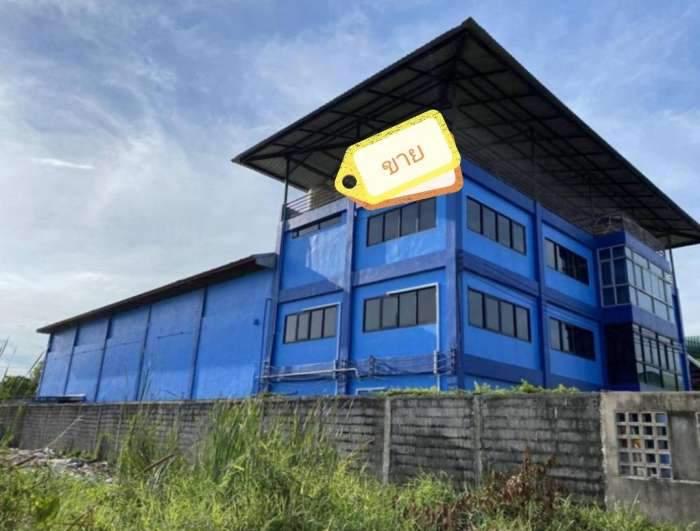 ขาย อาคารสำนักงาน 3 ชั้น เนื้อที่ดิน 1 ไร่ 6 ตารางวา ซอยกรุงเทพกรีฑา 37 แยก 1 แขวงทับช้าง เขตสะพานสูง กรุงเทพฯ