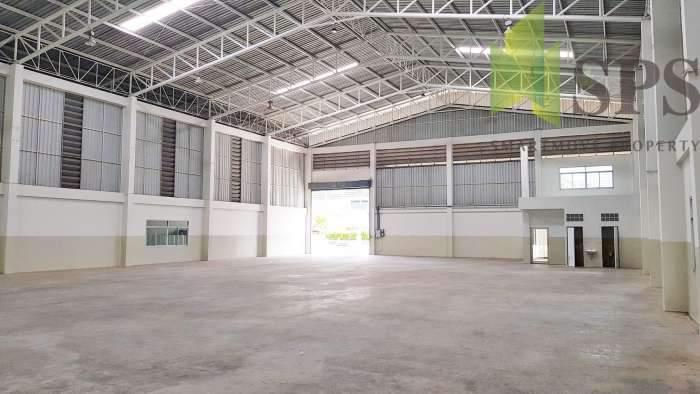 โกดังให้เช่าติดถนน แพรกษา ตั้งอยู่ในพื้นที่สีม่วง Warehouse For Rent  (SPS-PPW061)