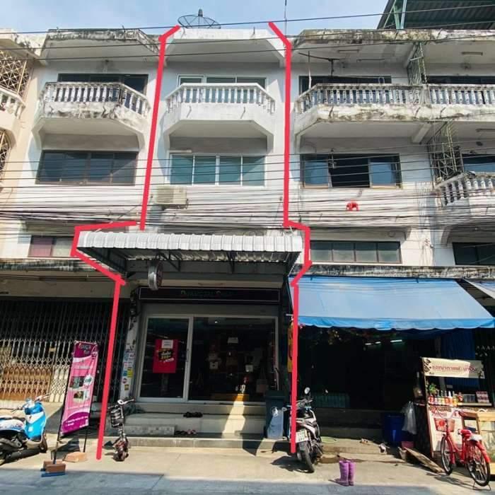 ขาย อาคารพาณิชย์ ย่านแหล่งเศรษฐกิจ ซอย สะแกงาม 35/2 ถนน พระราม 2 ซอย 69