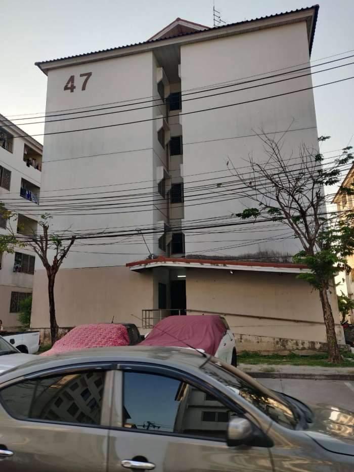 ปล่อยเช่าห้องพัก เอื้ออาทรลาดกระบัง 2  อากาศดีไม่ร้อน ตึก 47 ชั้น 2