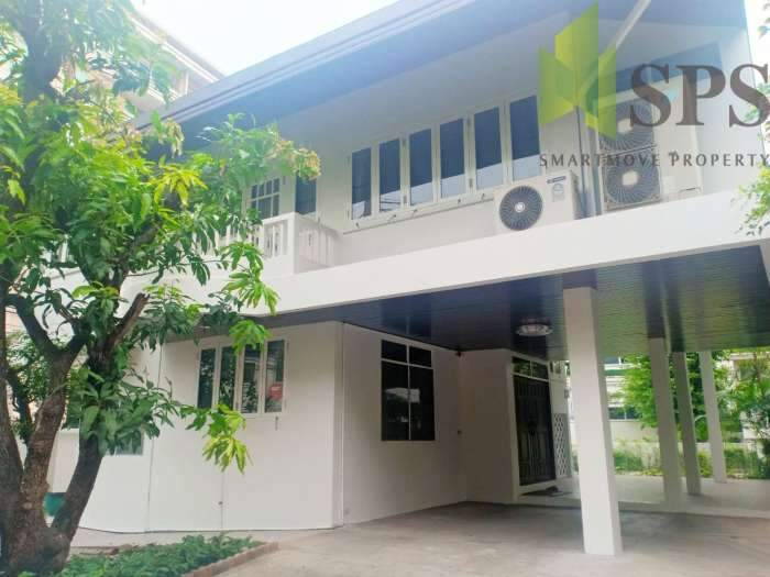 For Rent Single House Newly renovated unfurnished at Soi Ruamrudee (Property ID: SPS-PA157)