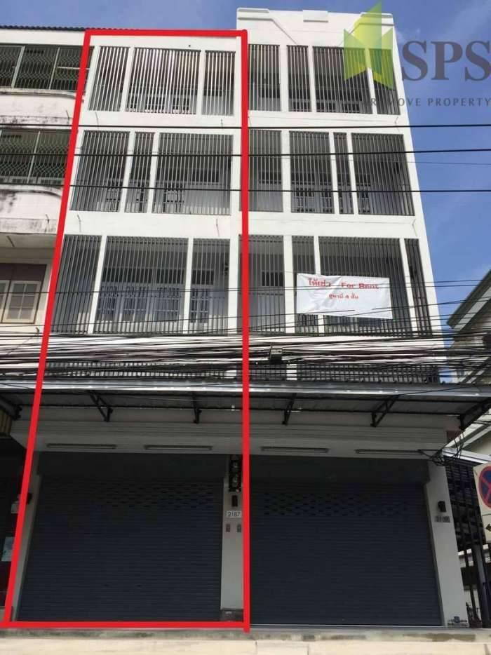 ให้เช่าตึกแถว ปรับปรุงใหม่ทั้งหลัง ติดถนนอ่อนนุช (Property ID: SPS-PP308)