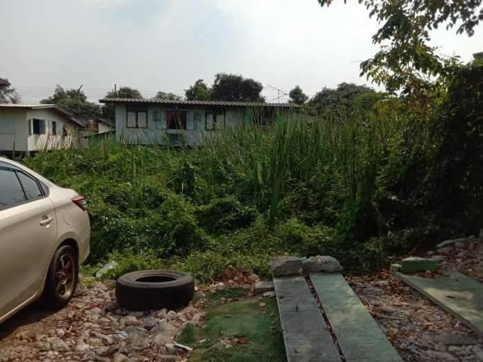 ขายที่ดินเปล่า เนื้อที่ 289 ตารางวา ซอยเคหะร่มเกล้า 45แยก1 ถนนเคหะร่มเกล้า