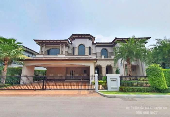 ขาย The Grand ปิ่นเกล้า บ้านยังไม่เคยเข้าอยู่ ติดถนนบรมราชชนนี ขายราคาถูกกว่าโครงการ คุ้มค่ามากๆ