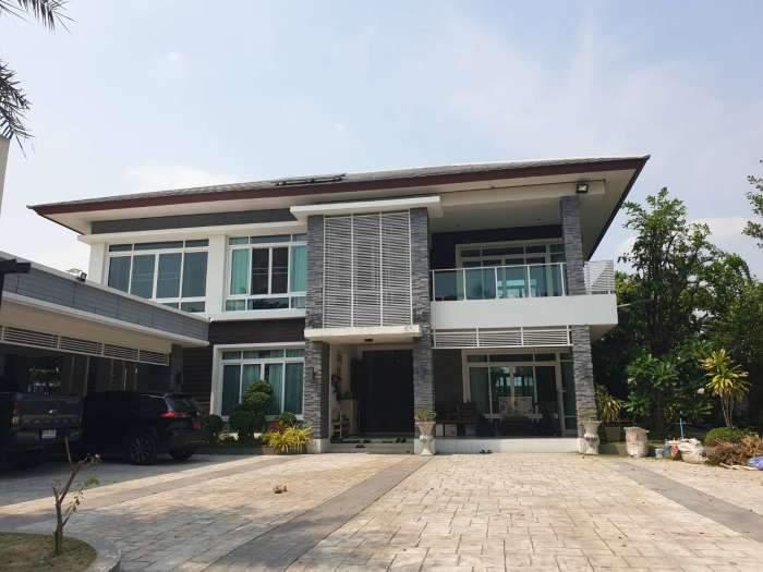 ขาย บ้านเดี่ยว ขนาด 268.7 ตรว. โครงการบ้านเดี่ยว สนามกอล์ฟ เอ็นซี ออนกรีน ฌาร์ม ลำลูกกา รังสิต - คลอง 4 | สนามกอล์ฟ ธัญญะ