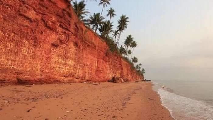 ขายที่ดิน 4 ไร่บนหน้าผาหาดฝั่งแดง ตำบลทรายทอง บางสะพานน้อย ประจวบ