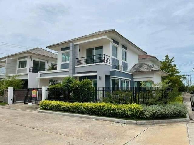 House for sale, The Grand Rama 2 Village Size 55.3 sq.wa. 2 floors, usable area 155 sq m. Price 5.2 million baht