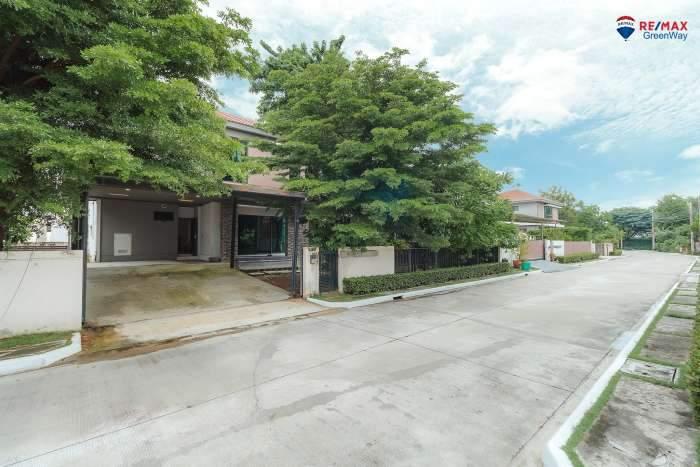 ขายบ้านเดี่ยว พระราม2 มัณฑนา โครงการแลนด์แอนด์เฮ้าส์ ตัวบ้านอยู่ต้นโครงการ