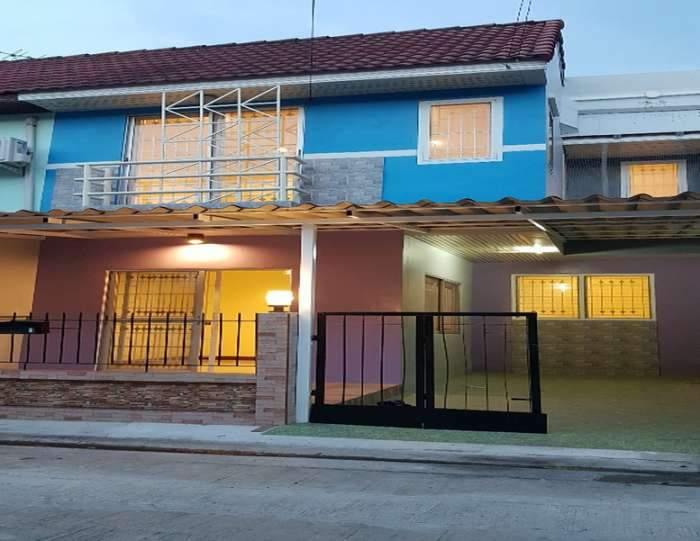 ขายบ้าน3ห้องนอนกว้าง6เมตรใกล้ตลาดเมเจอร์ปากเกร็ดข้ามพะรามสี่มาติดถนนใหญ่ชัยพฤก